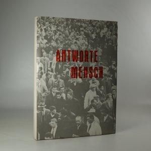 náhled knihy - Antworte, Mensch! (věnování autorky)