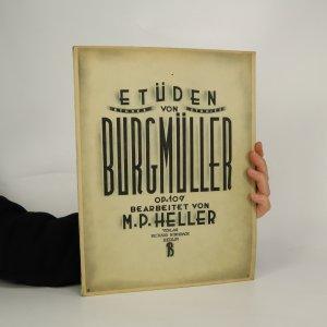 náhled knihy - Etüden von Burgmüller op.109 Bearbeitet von M. P. Heller