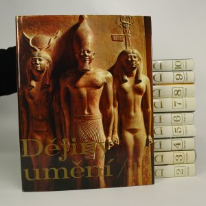 náhled knihy - Dějiny umění. I.-X. díl (komplet 10 svazků)