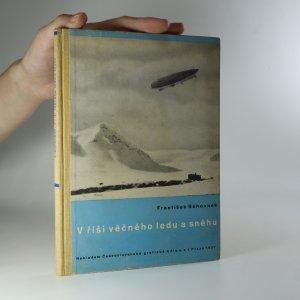 náhled knihy - V říši věčného ledu a sněhu