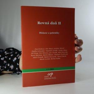 náhled knihy - Rovná daň II. Diskuse a polemiky