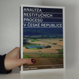 náhled knihy - Analýza restitučních procesů v České republice