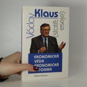 náhled knihy - Ekonomická věda a ekonomická reforma. Statě, eseje