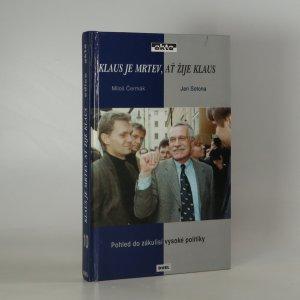 náhled knihy - Klaus je mrtev, ať žije Klaus