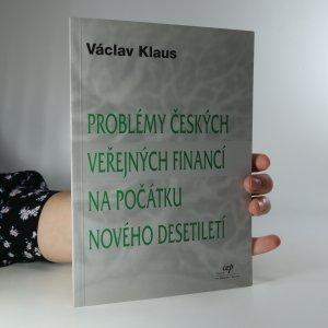 náhled knihy - Problémy českých veřejných financí na počátku nového desetiletí