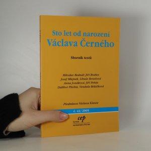 náhled knihy - Sto let od narození Václava Černého
