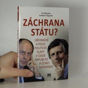 náhled knihy - Záchrana státu?
