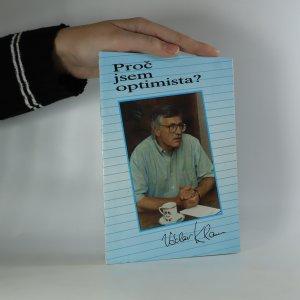 náhled knihy - Proč jsem optimista?