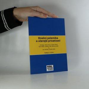 náhled knihy - Dnešní polemika o včerejší privatizaci