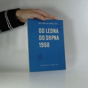 náhled knihy - Od ledna do srpna 1968