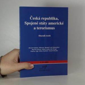 náhled knihy - Česká republika, Spojené státy americké a terorismus
