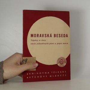 náhled knihy - Moravská beseda