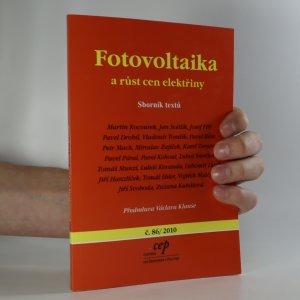 náhled knihy - Fotovoltaika a růst cen elektřiny