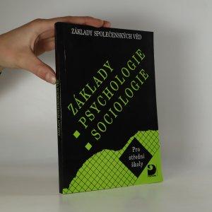 náhled knihy - Základy psychologie, sociologie. Základy společenských věd