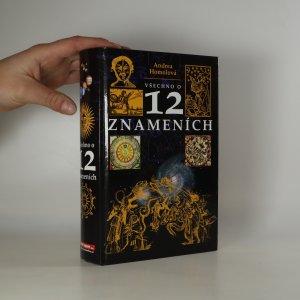 náhled knihy - Všechno o dvanácti znameních