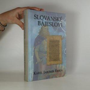 náhled knihy - Slovanské bájesloví