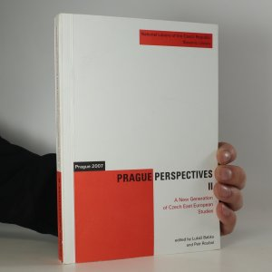 náhled knihy - Prague Perspectives II. A new Generation of East European Studies