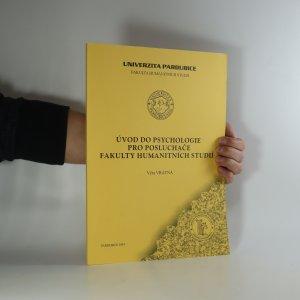 náhled knihy - Úvod do psychologie pro posluchače Fakulty humanitních studií