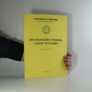 náhled knihy - Sociologický výzkum a jeho techniky