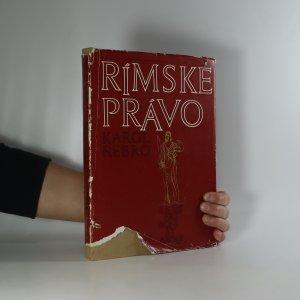 náhled knihy - Rímske právo súkromné