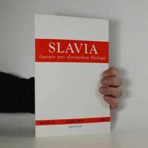 náhled knihy - Slavia. Časopis pro slovanskou filologii. Ročník 79. Sešit 1