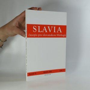 náhled knihy - Slavia. Časopis pro slovanskou filologii (ročník 75, sešit 1)