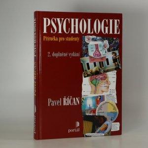 náhled knihy - Psychologie. Příručka pro studenty