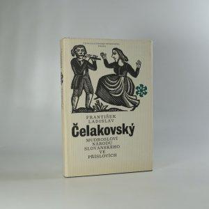 náhled knihy - Mudrosloví národu slovanského v příslovích