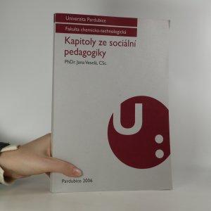 náhled knihy - Kapitoly ze sociální pedagogiky