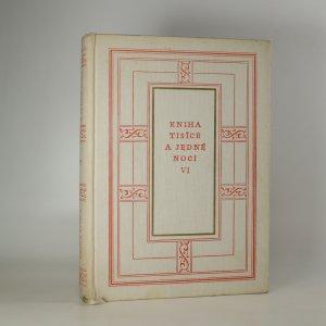 náhled knihy - Kniha tisíce a jedné noci VI