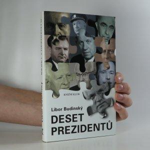 náhled knihy - Deset prezidentů