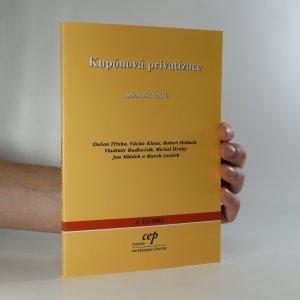 náhled knihy - Kupónová privatizace