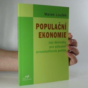 náhled knihy - Populační ekonomie a její důsledky pro účinnost pronatalitních politik