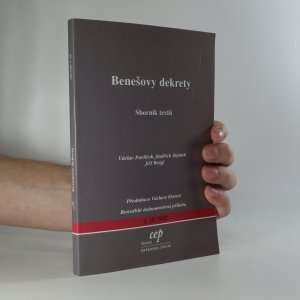 náhled knihy - Benešovy dekrety