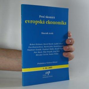 náhled knihy - Proč skomírá evropská ekonomika