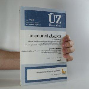 náhled knihy - Obchodní zákoník. Podle stavu k 1.9.2009
