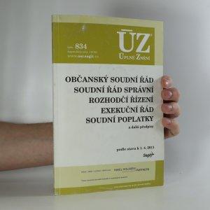 náhled knihy - Občanský soudní řád. Podle stavu k 1.4.2011