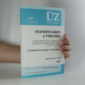 náhled knihy - Stavební zákon a vyhlášky. Podle stavu k 18.7.2011