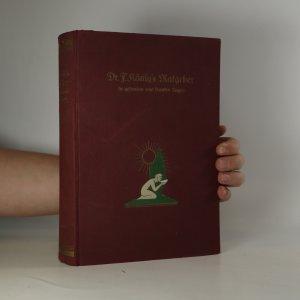 náhled knihy - Ratgeber in gefunden und kranken Tagen (je cítit zatuchlinou)