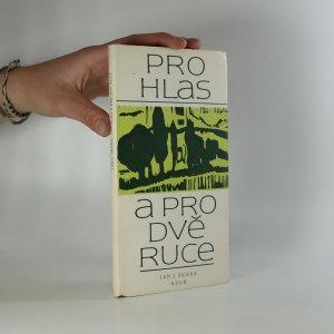 náhled knihy - Pro hlas a pro dvě ruce