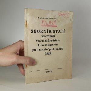 náhled knihy - Sborník statí