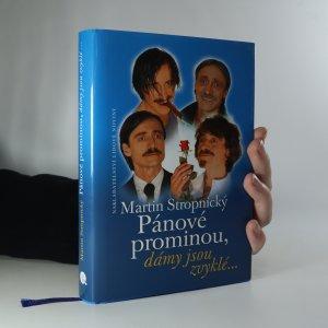 náhled knihy - Pánové prominou, dámy jsou zvyklé...