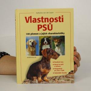 náhled knihy - Vlastnosti psů