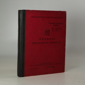 náhled knihy - Předpis pro odbojovou přípravu