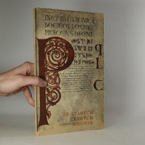 náhled knihy - Ze starých českých kronik