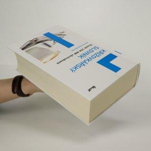 antikvární kniha Křížovkářský slovník, 2011