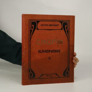 náhled knihy - Klavierwerke III