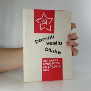 náhled knihy - Paměti Vasila Biĺaka