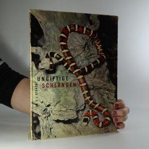 náhled knihy - Ungiftige Schlangen