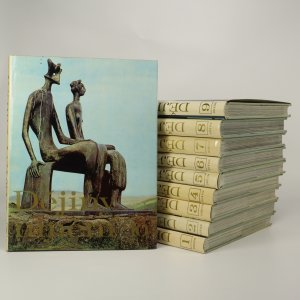 náhled knihy - Dějiny umění. I.-X. díl (10 svazků, komplet)